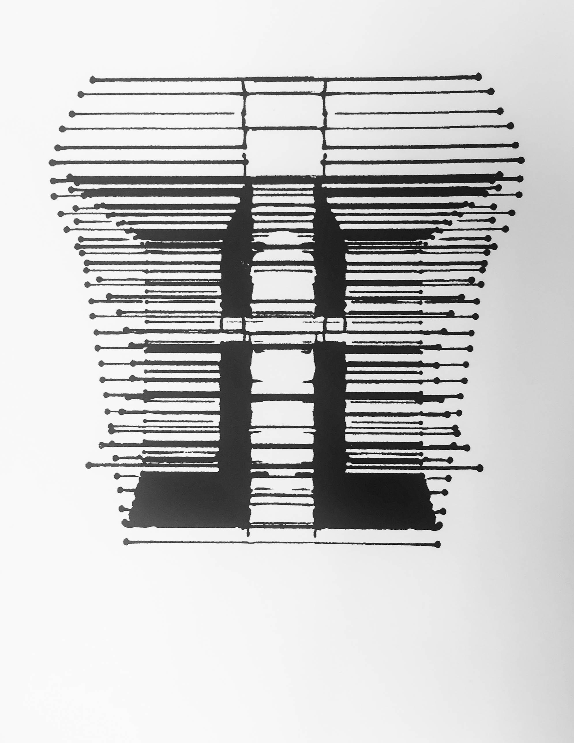 - Algorithm Inkblot II, serigraph