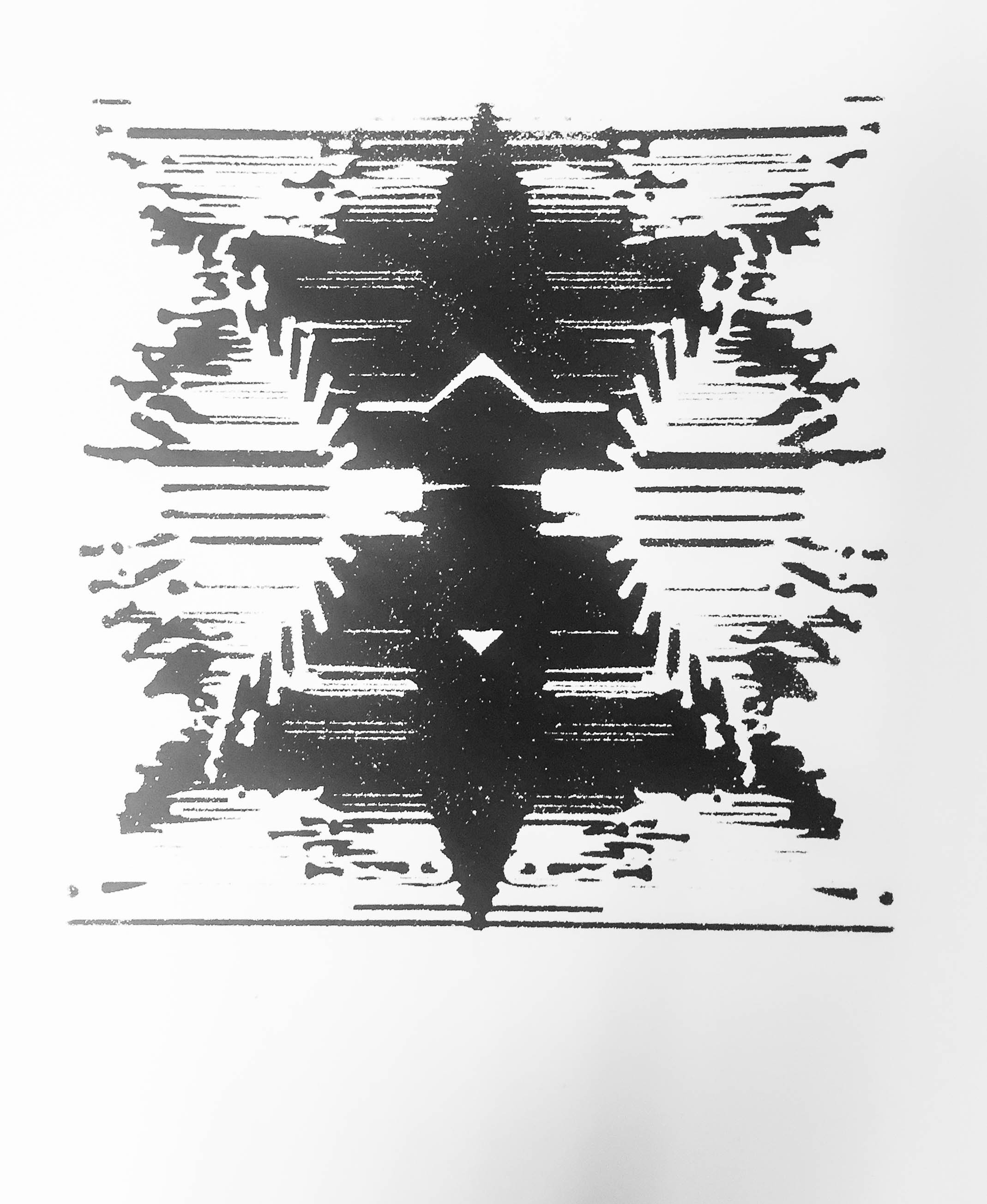 - Algorithm Inkblot V, serigraph