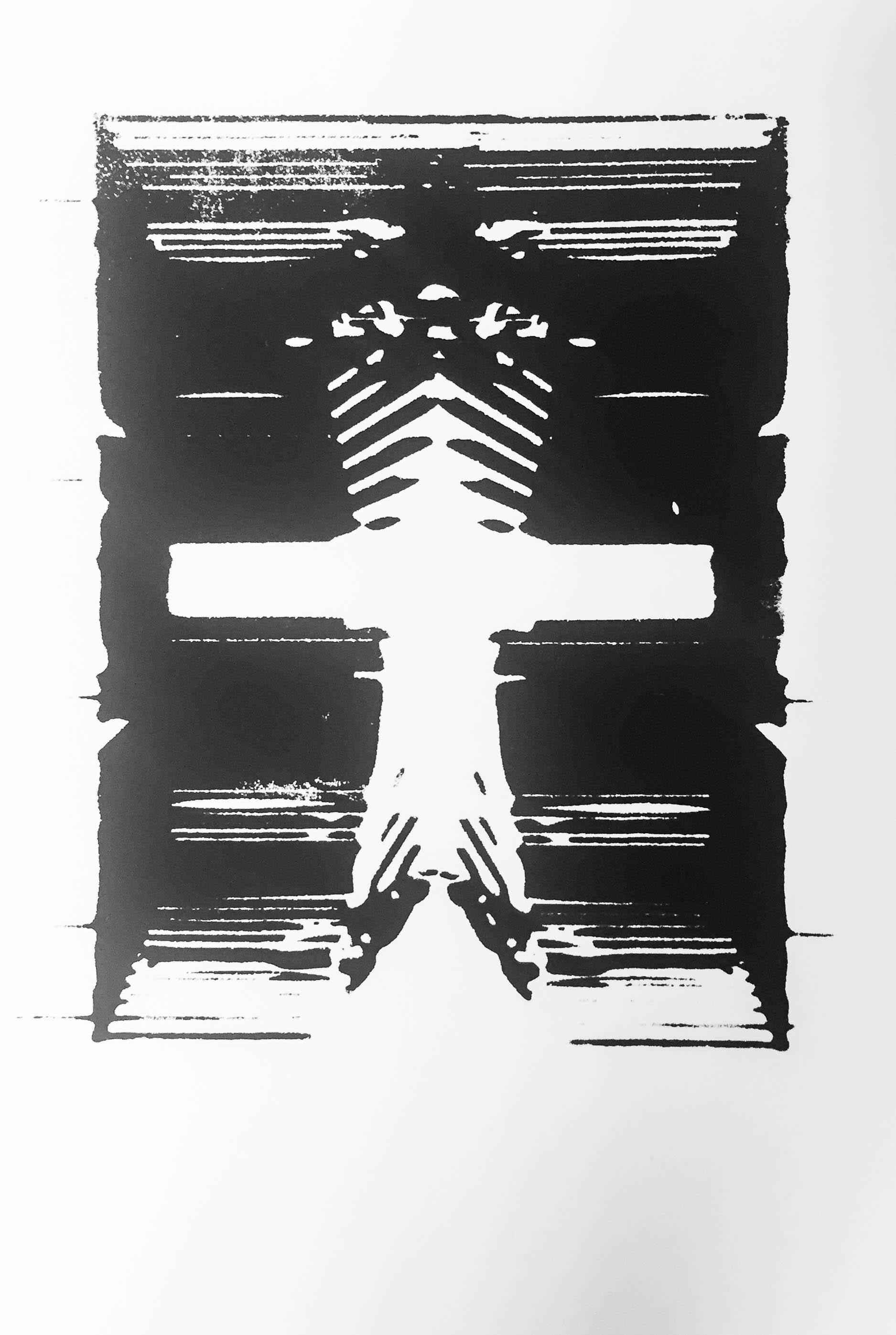 - Algorithm Inkblot VI, serigraph