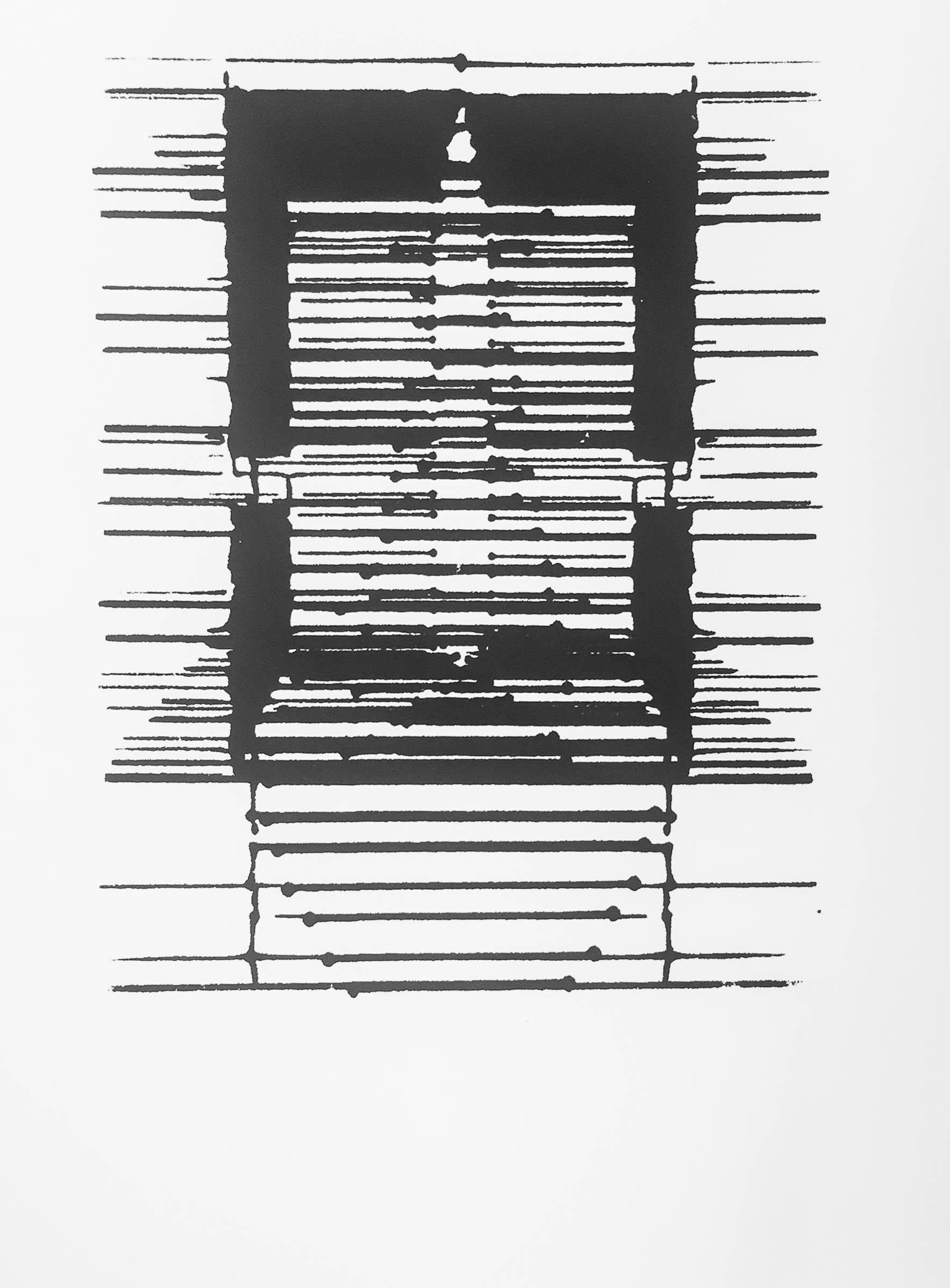 - Algorithm Inkblot VII, serigraph