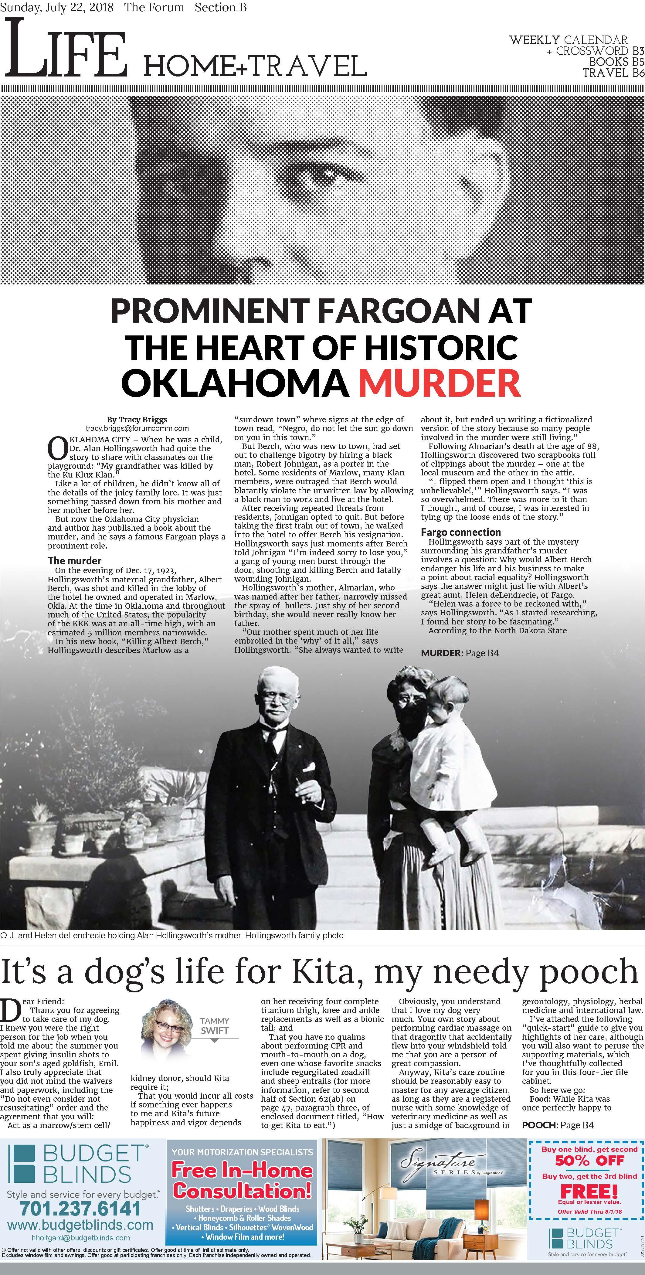 - Variety cover of Fargo - Moorhead's The Forum