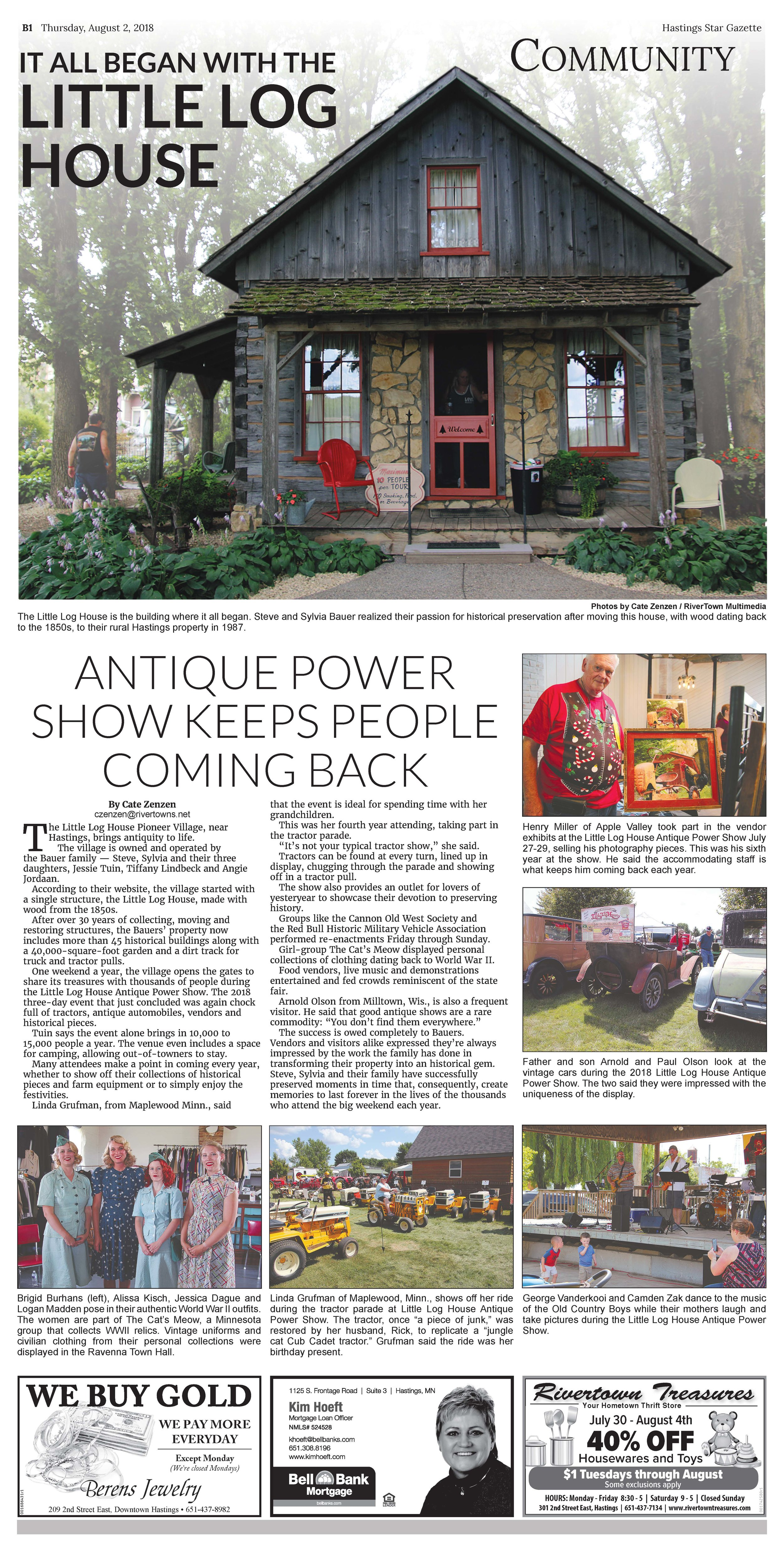 - Features cover of The Hastings Star Gazette