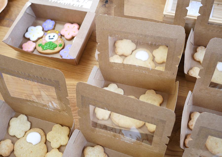 米粉で作られたクッキー。並んでいるだけでなんか既にオシャレ!(本日2回目)