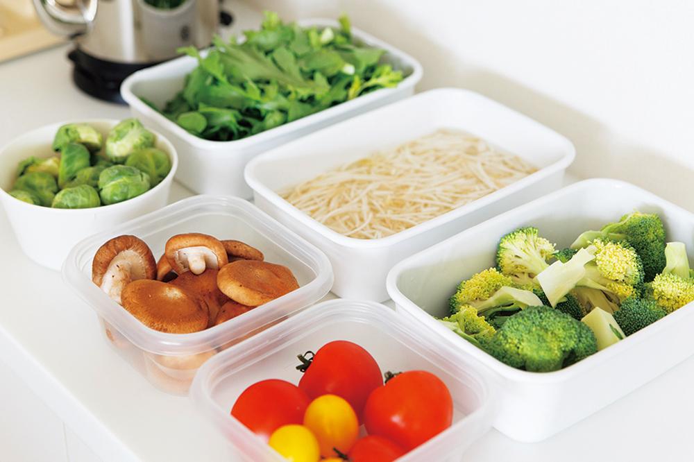 配達後は1~2日以内に野菜類をすべて洗ってカットするなど下処理しておく