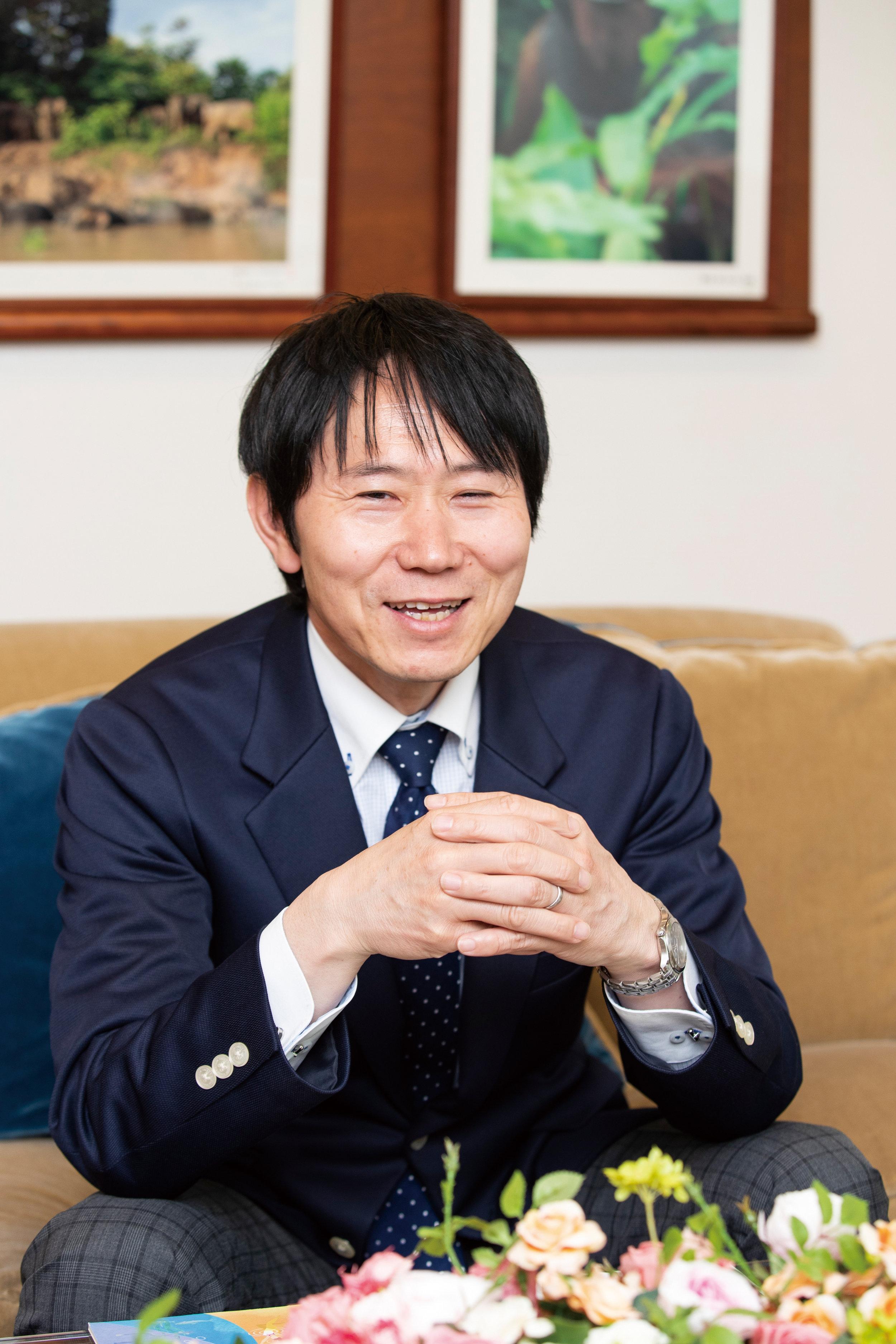お話を伺いました サラヤ株式会社 広報宣伝統括部 部長 廣岡竜也 さん