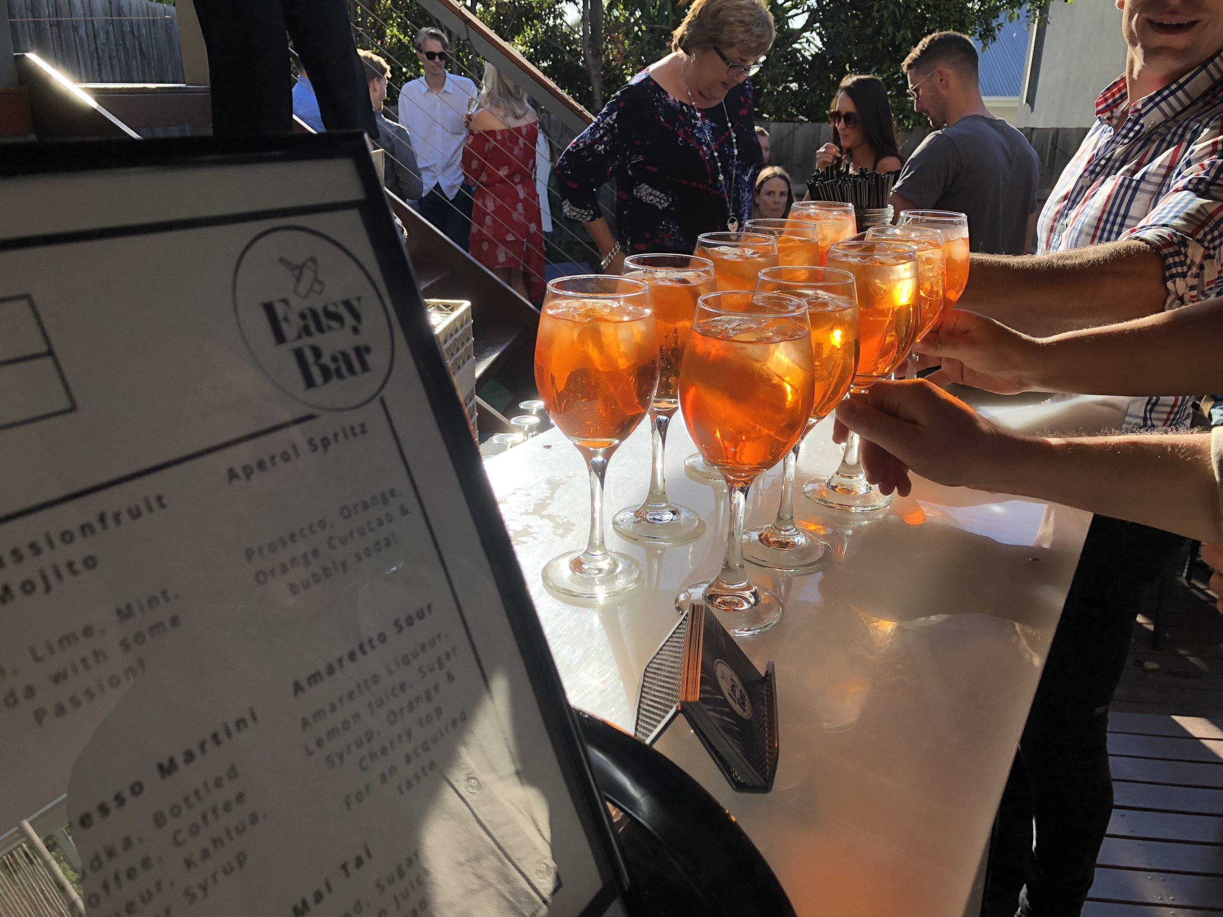 Easy Bar - Aperol Spritz Cockails - Melbourne Sydney.JPG