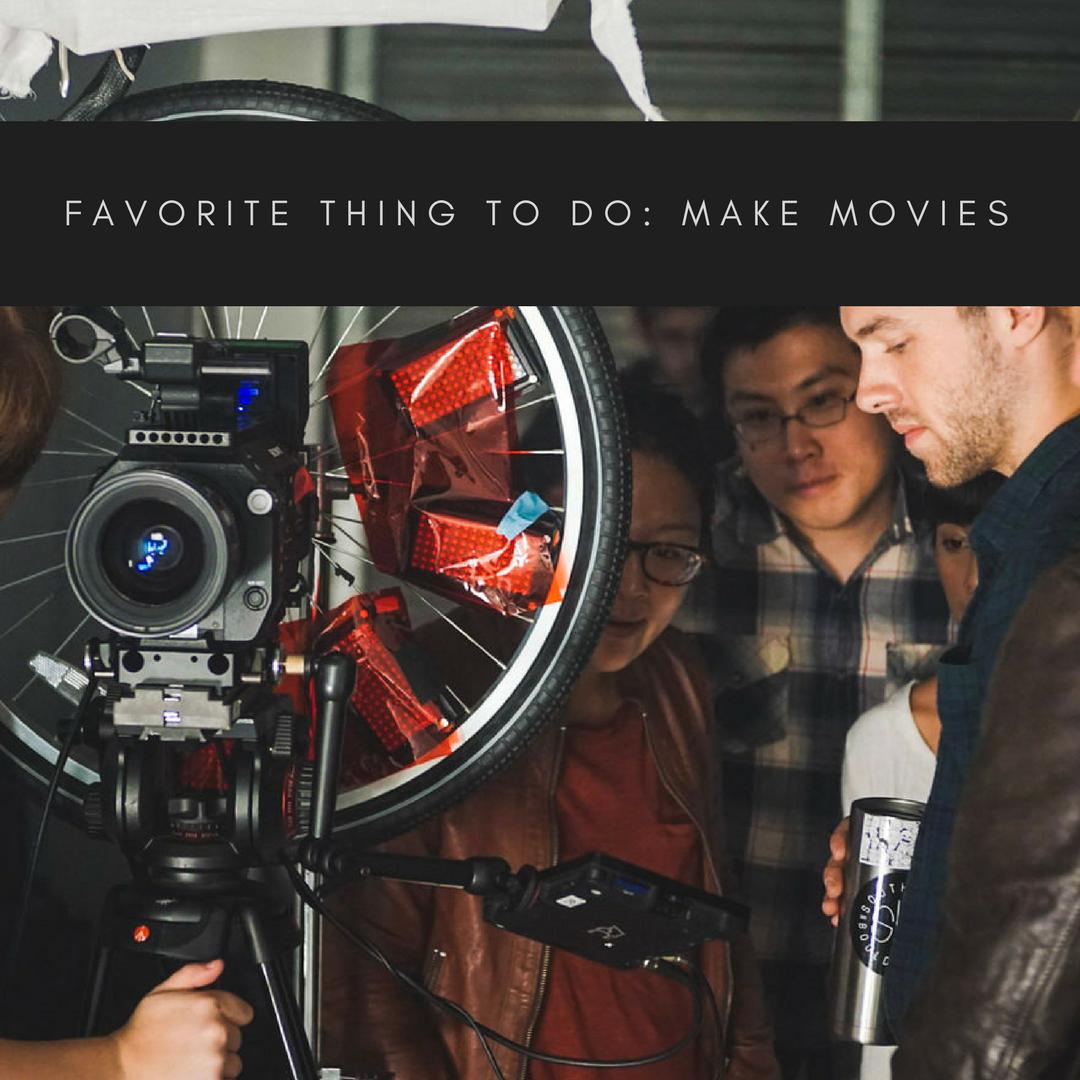 Christine Chen makes movies