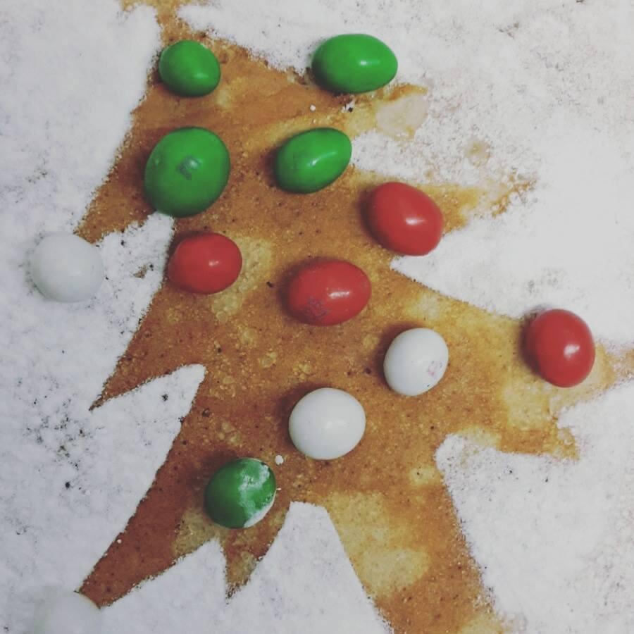 kerstboom pannenkoek