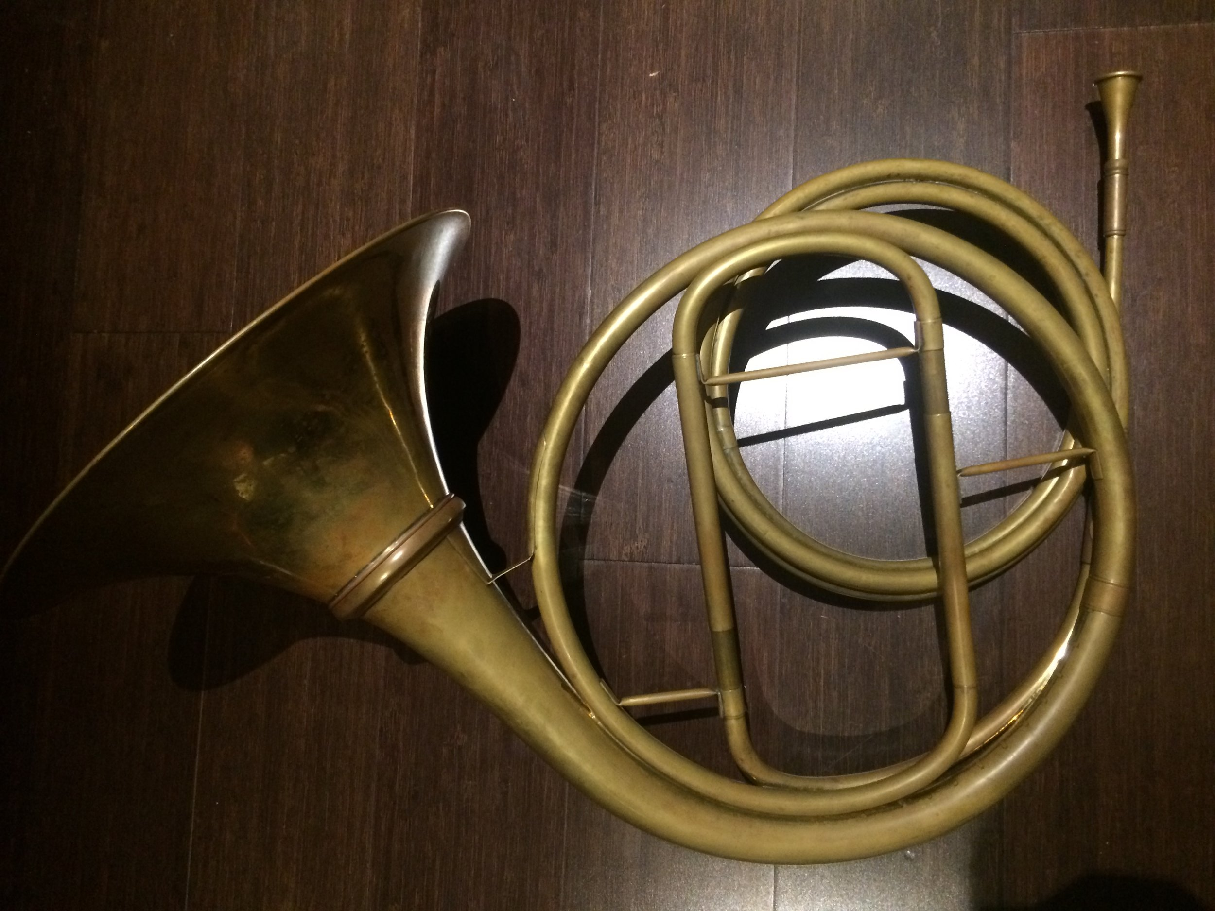 Andreas Jungwirth  classical natural horn  copy of Johann Anton Lausmann (active late 18th/early 19th century).