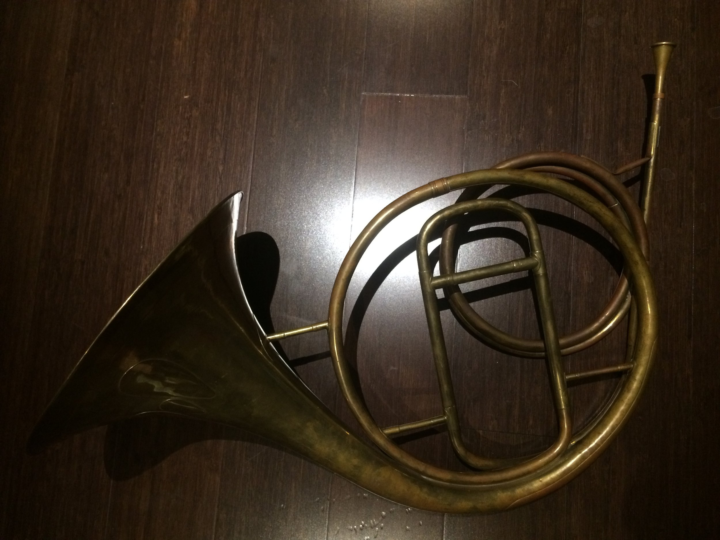 Jean Baptiste Tabard (b.1779–d. 1845)  classical natural horn (  cor d'orchestre)   c.1830.