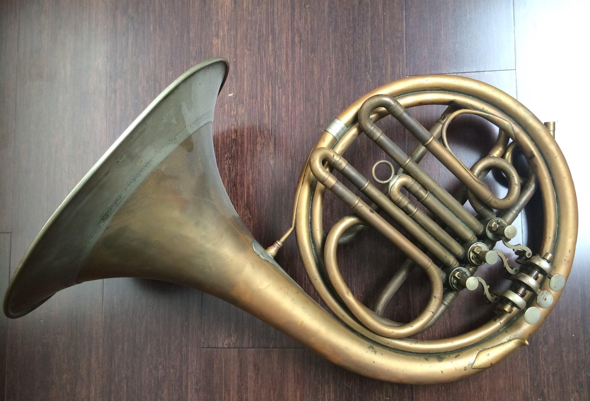 Rotary horn: Vladimír Kupka (Mariánské Hory,Moravia), early 20th century.