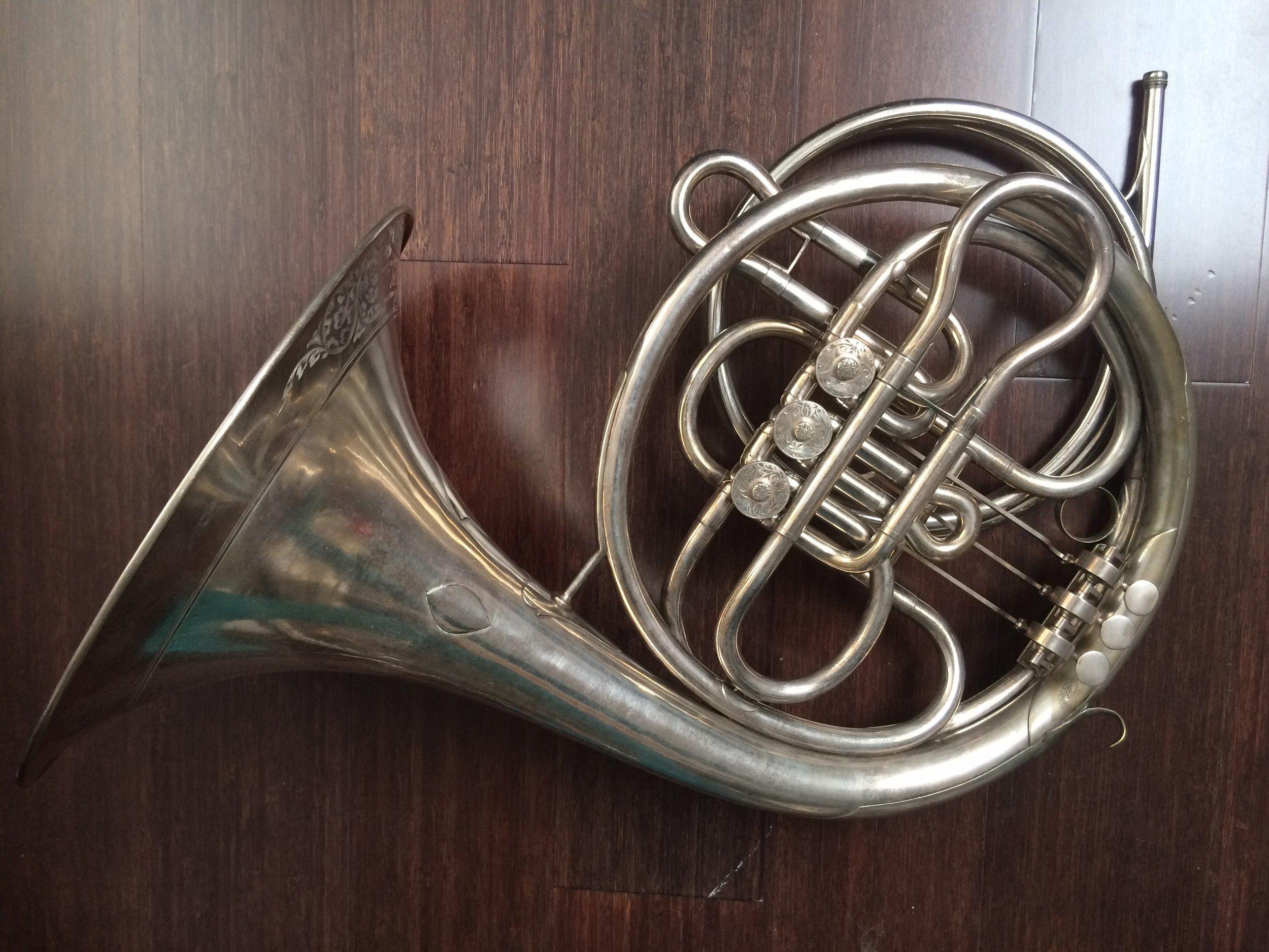 Rotary horn: Leopold Uhlmann (Vienna, 1806–1878), mid. 19th century.