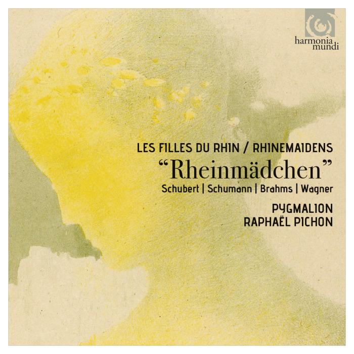 ENSEMBLE PYGMALION, RAPHAËL PICHON: RHEINMÄDCHEN (HARMONIA MUNDI, 2016) - Pygmalion, Raphaël PichonBernarda Fink - Mezzo-sopranoEmmanuel Ceysson - harpAnneke Scott, Joseph Walters, Olivier Picon, Chris Larkin - hornsIncludes: Johannes Brahms Vier Gesänge op.17, Wagner arr. Wilcox Funeral March from Götterdämmerung and the Wagner Siegfred Call.Harmonia Mundi, 2016.