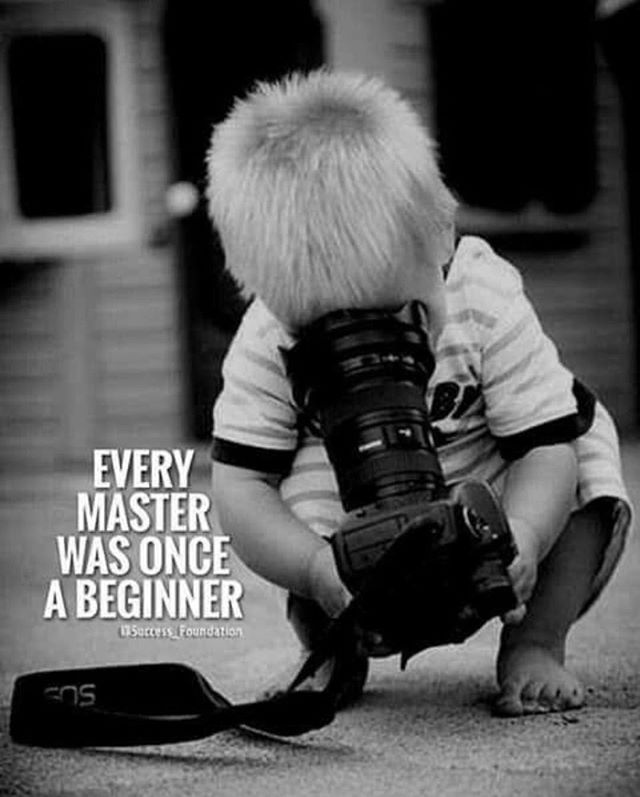 We all started somewhere #beginnings #learning #photography #start #better #grow