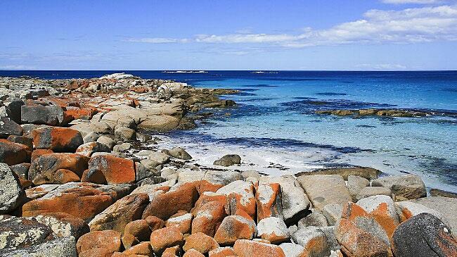 Bay of Fires, East coast Tasmania.
