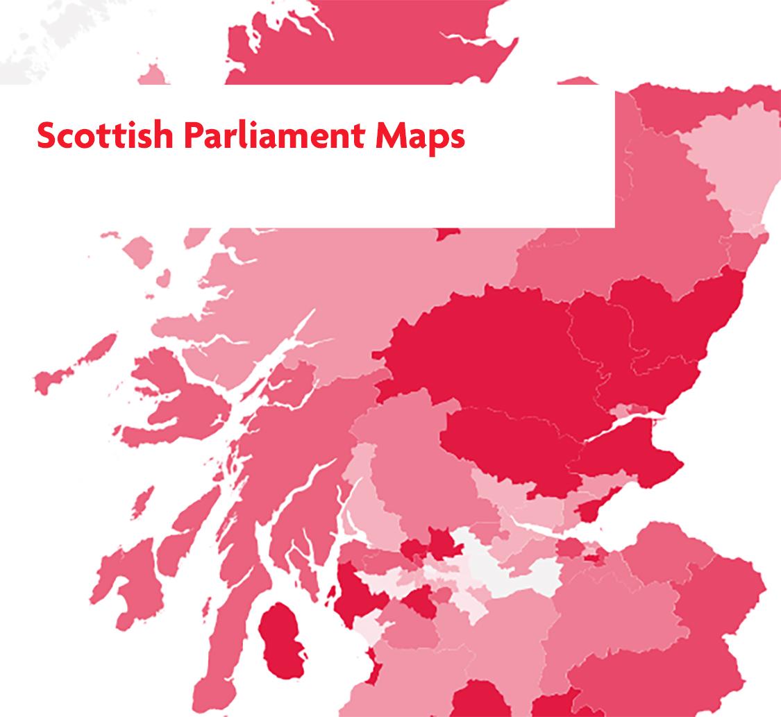 Scottish Parliament Maps