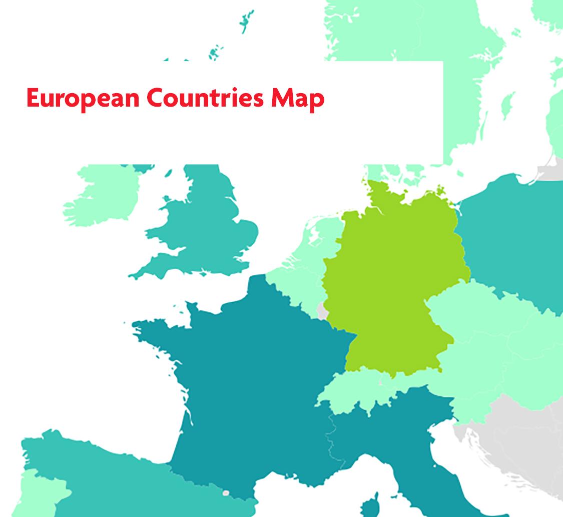 European Countries Map