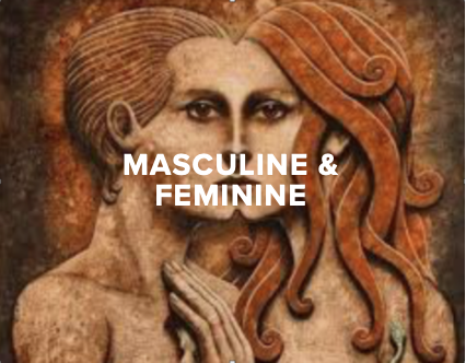 - We believe that Masculine and Feminine energies interact and express uniquely through every person and group. We hold circles to share and unpack our personal experiences of these powerful archetypal qualities, and to collectively rewrite the script of gender and culture in the world today.