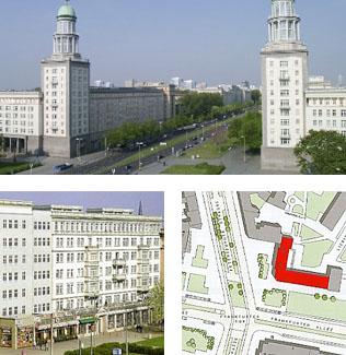Penthouses Frankfurter Tor   6 Penthouses über den Dächern Berlins Wohnflächen von 120 m² bis 185 m²
