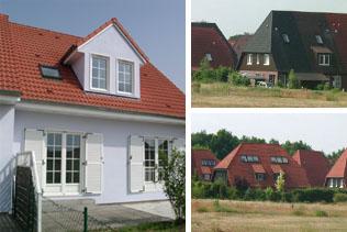 12 Reihen- und Doppelhäuser in Zossen   Innerhalb von 6 Wochen haben wir Ende 2006 diese familienfreundlichen Häuser vermietet.