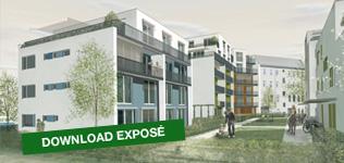 Terrassenhäuser an der Eiche Berlin-Pankow   3 Gewerbeeinheiten und 29 Wohnungen, verteilt auf 4 Häuser um einen geschützten Gartenhof und Privatgärten. Der klassisch-moderne, zeitlose Baustil hat den exponierten Standort positiv geprägt und aufgewertet. Die ruhige Wohnseite mit Terrassen und Gärten ist zur erholsamen Süd-West-Richtung gelegen.