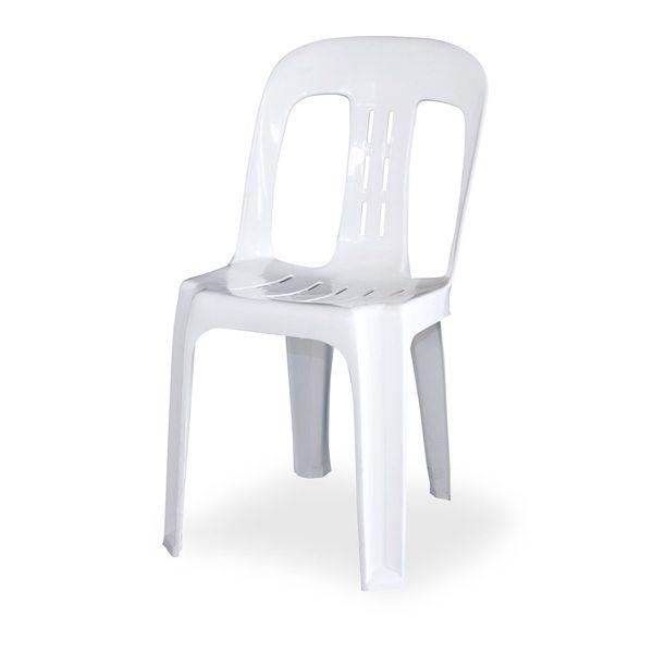 White Bistro Chair  $2.20