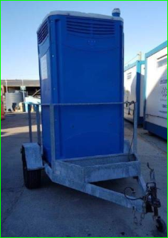 Chemical Toilet on Trailer $132.00