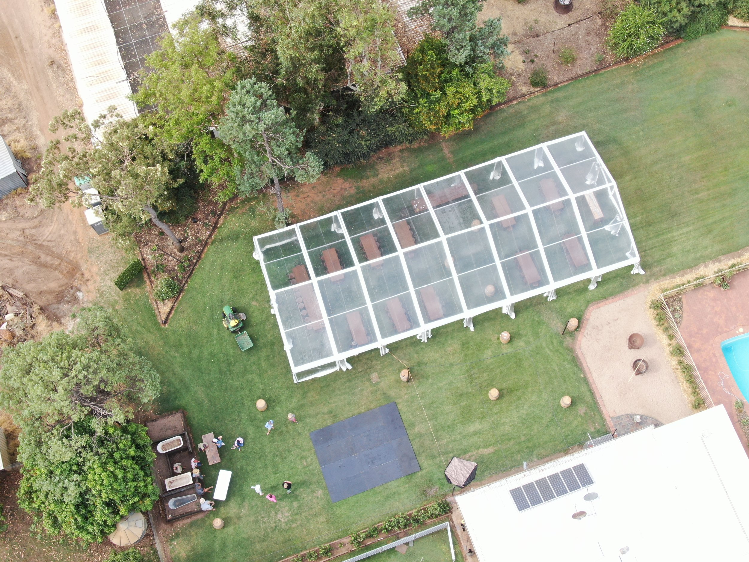 10 x 24m clear from above