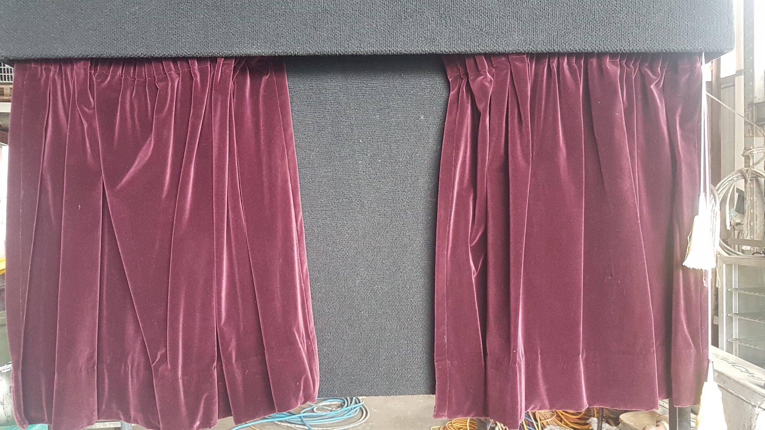 Unveiling Curtain $99.00