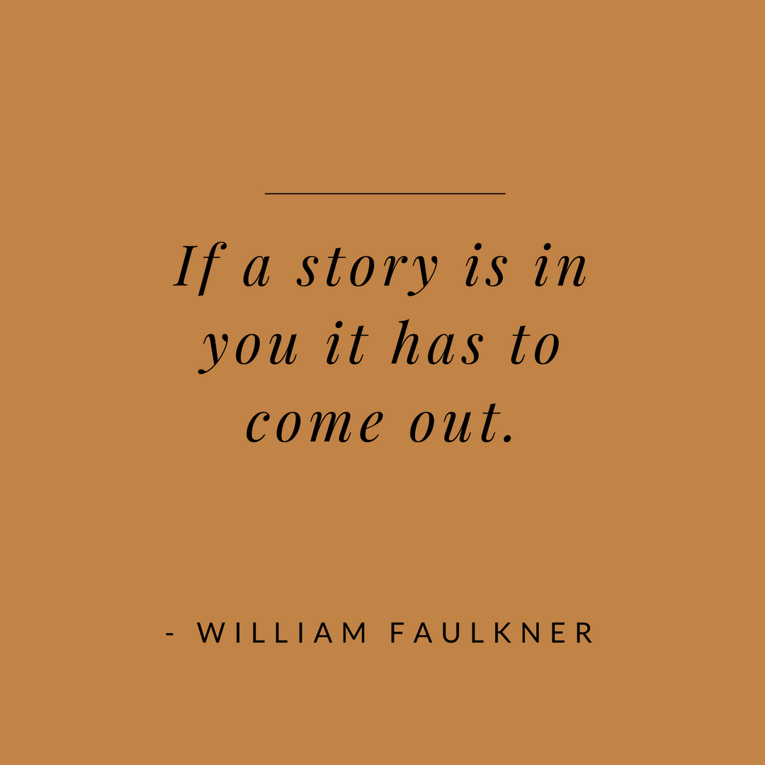william faulkner story quote.png