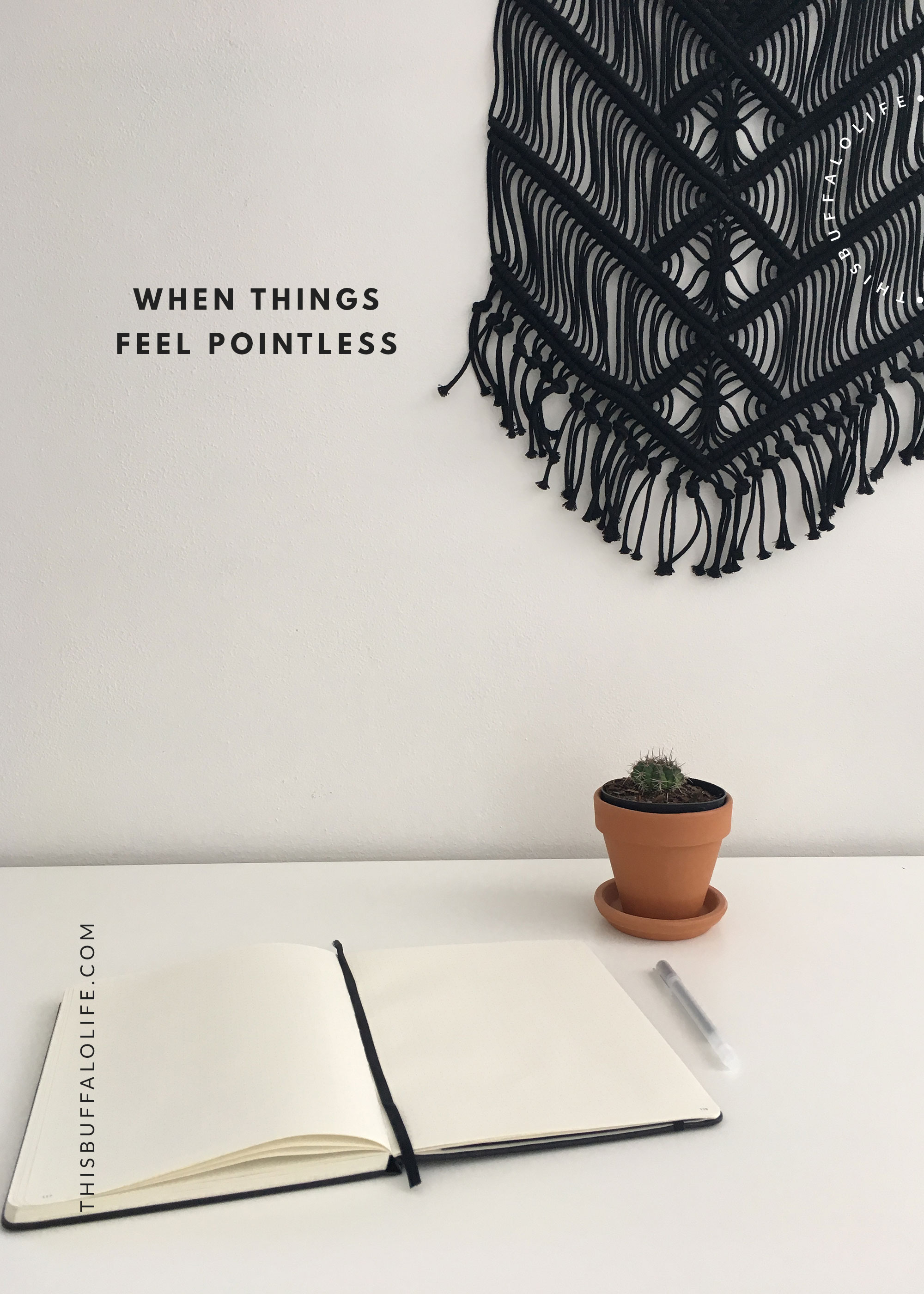 when things feel pointless