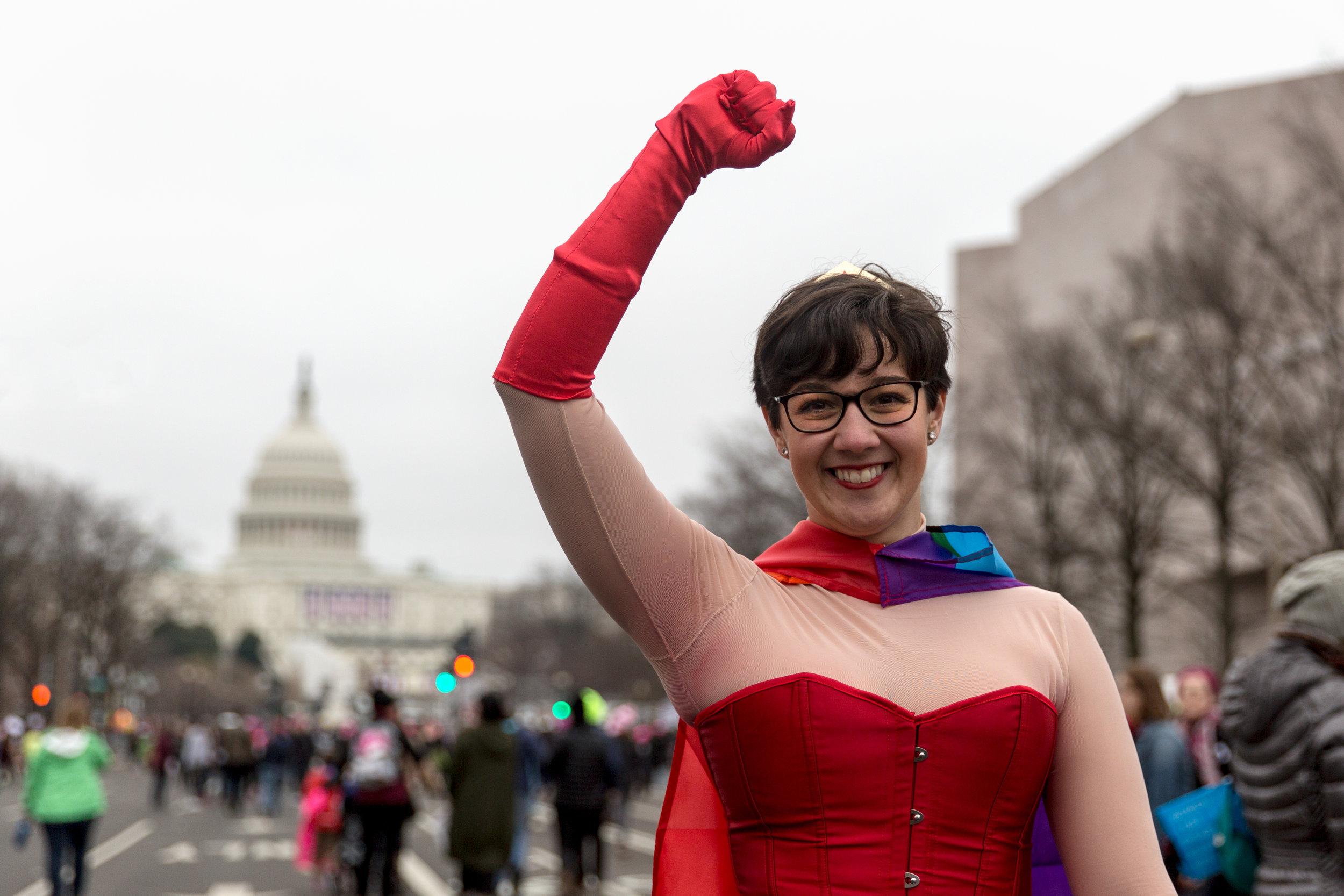 Women's March, Pennsylvania Ave
