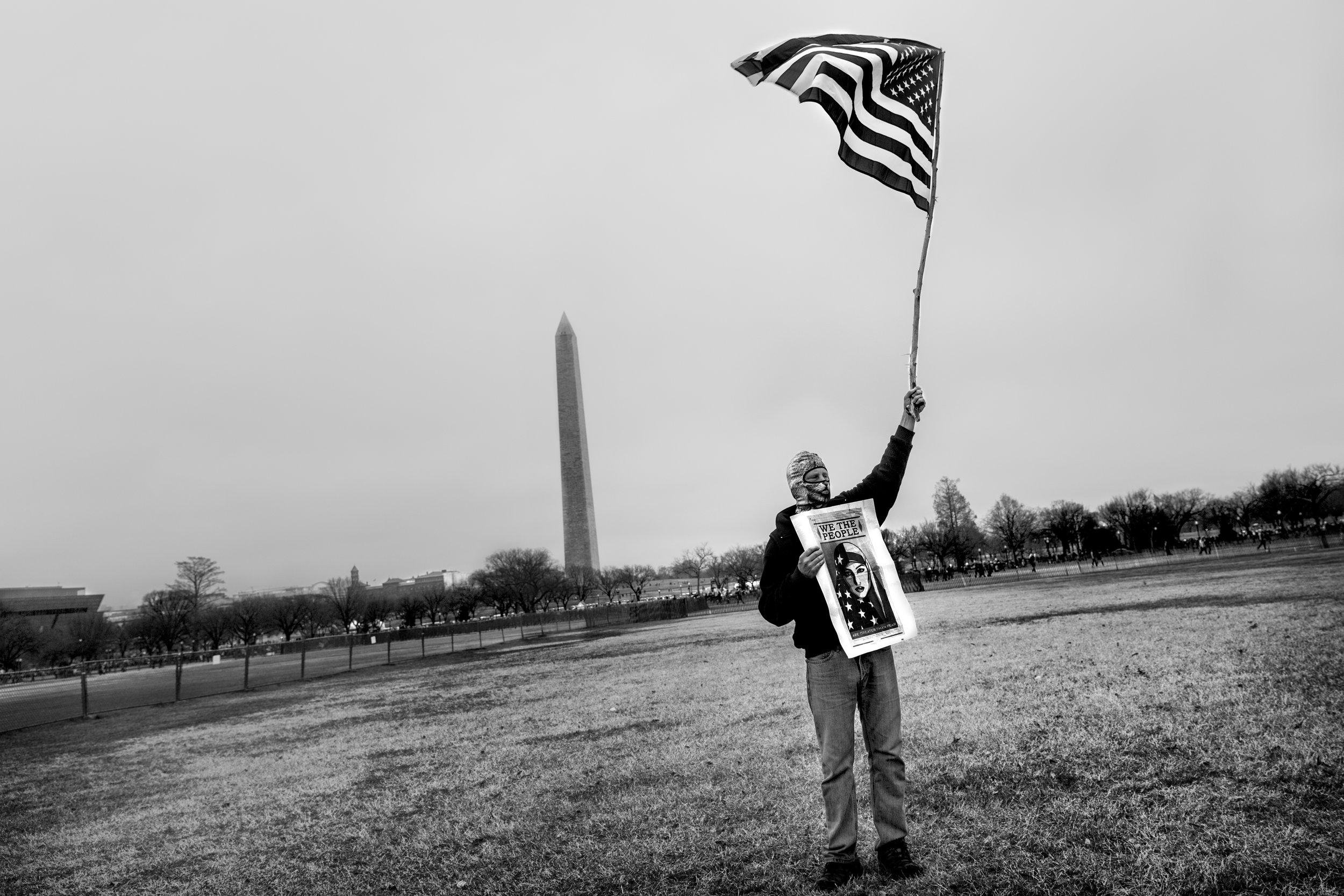 Women's March, Washington DC 2017