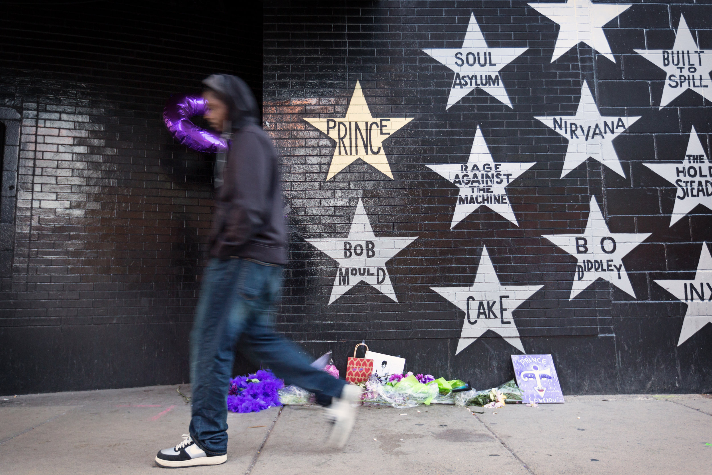 Prince's Star at First Avenue, Minneapolis MN