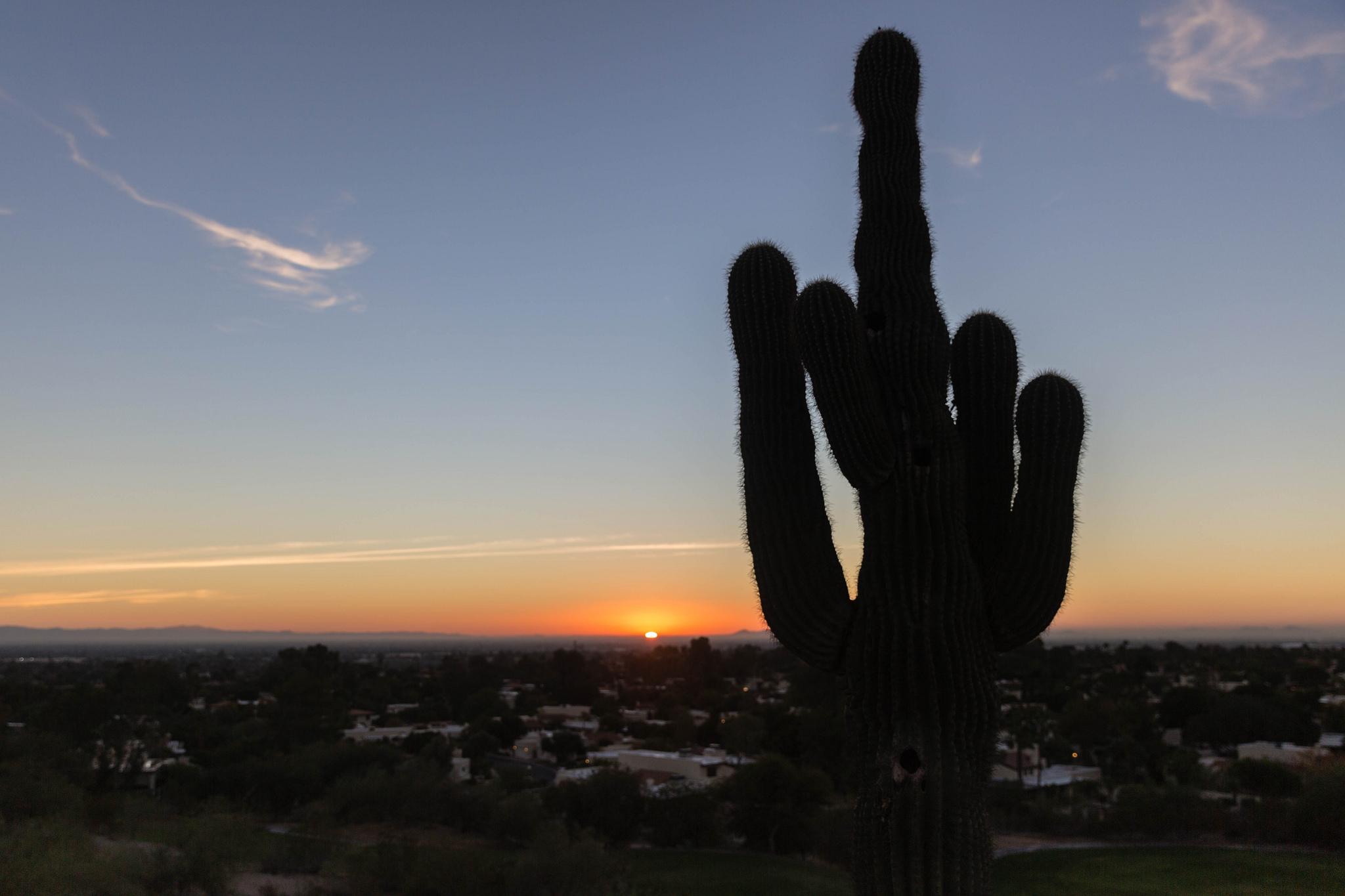 Go to hell sunrise, Phoenix Arizona