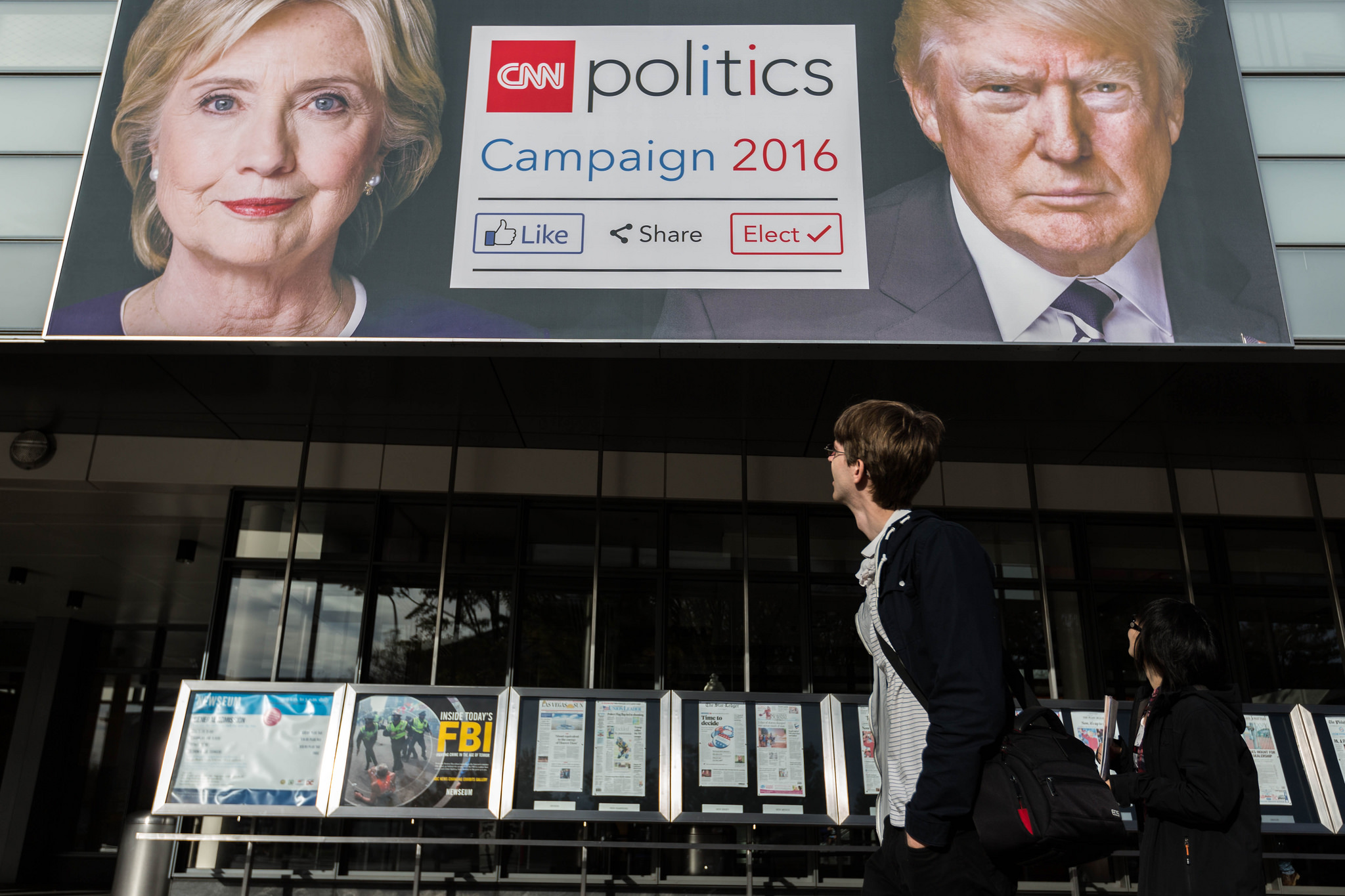 Election Day: The Newseum's Campaign 2016 exhibit