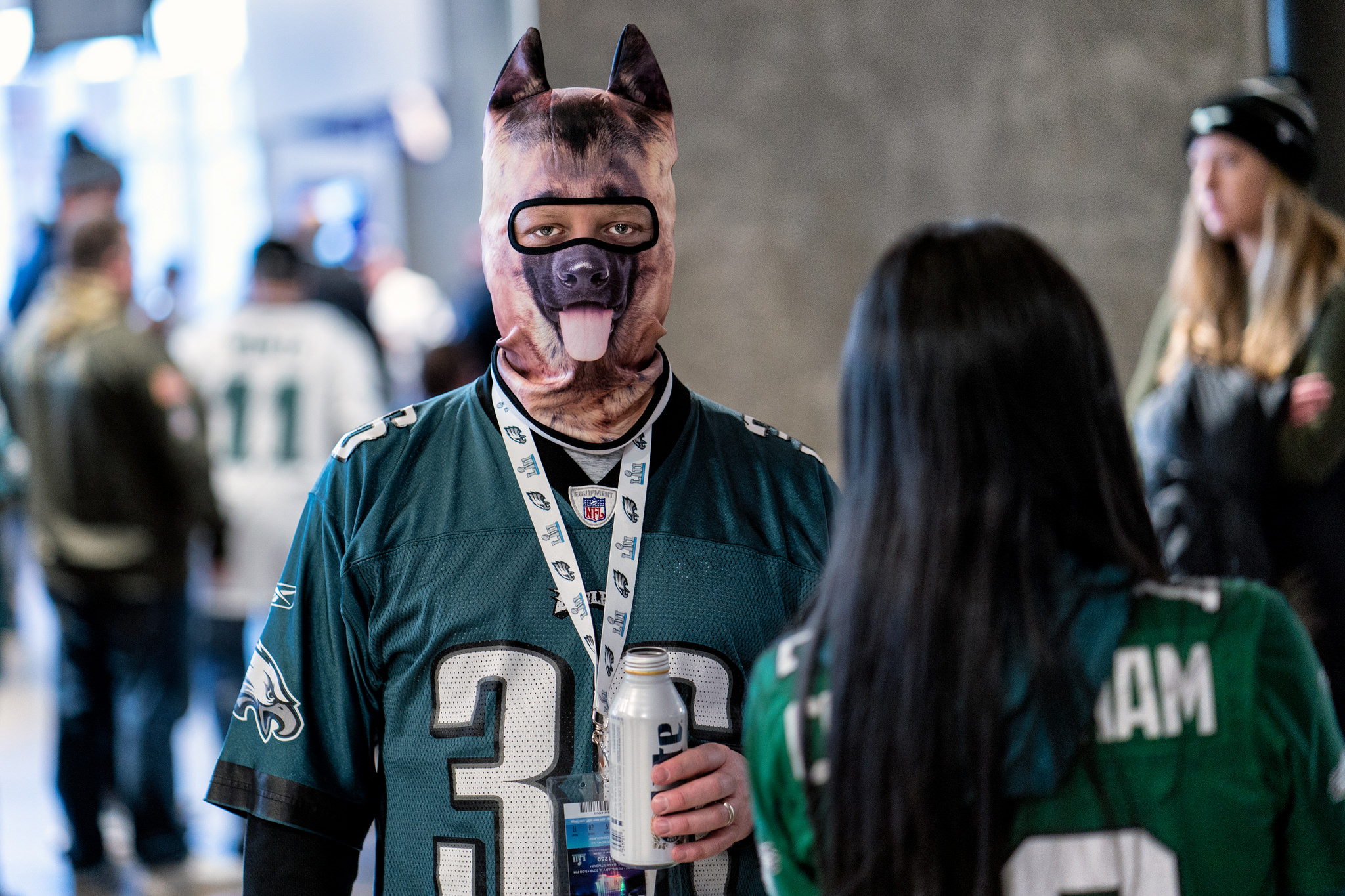 Every underdog needs a beer break. Super Bowl 2018, Minneapolis MN