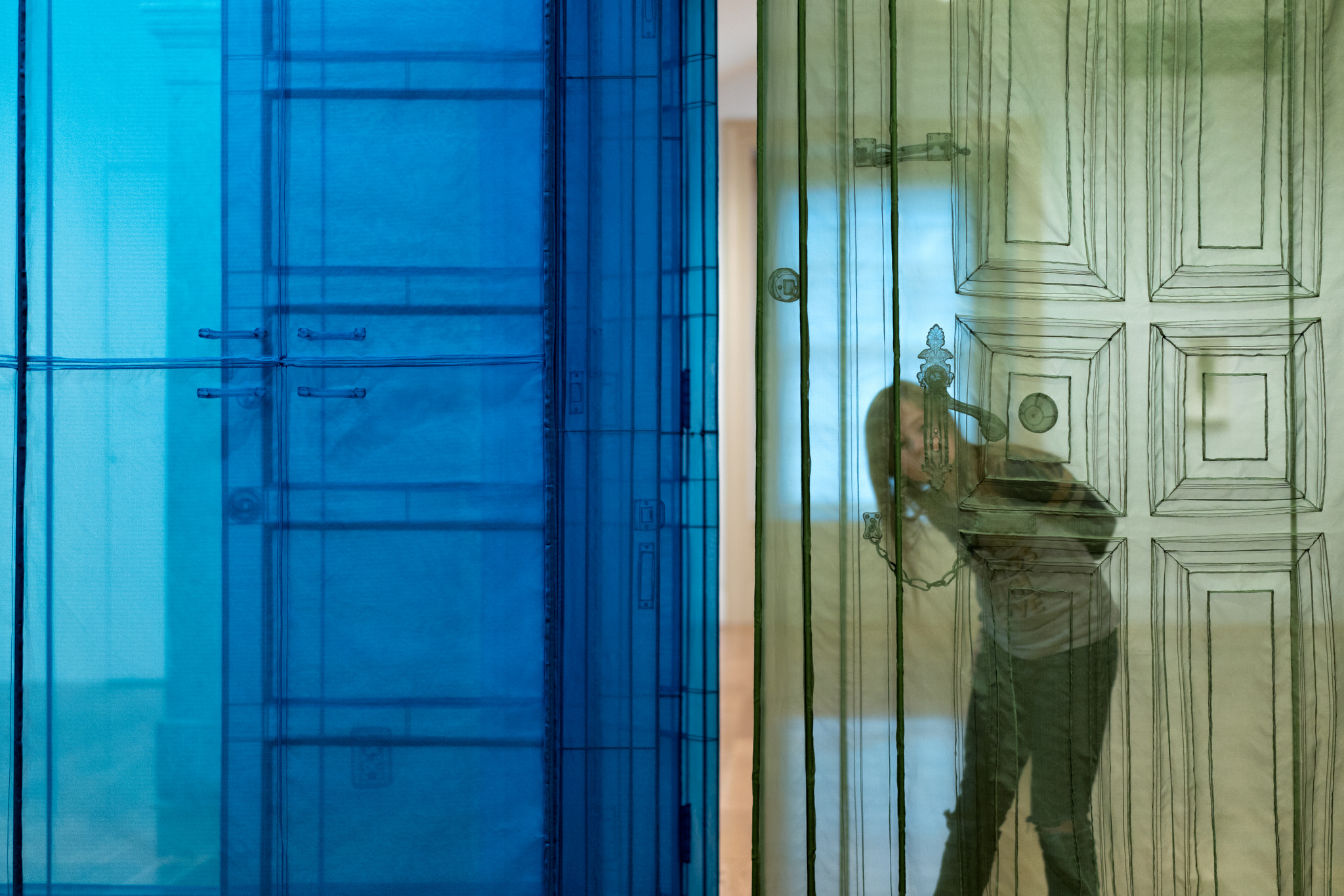 My Homes installation by Do Ho Suh: Almost Home at Smithsonian American Art Museum