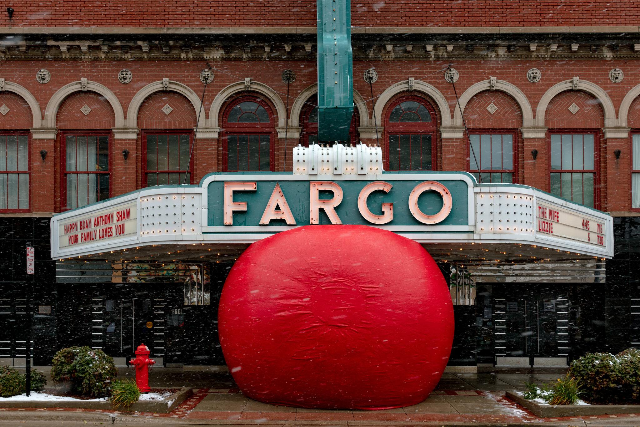 The RedBall Project at the Fargo Theatre, Fargo, North Dakota
