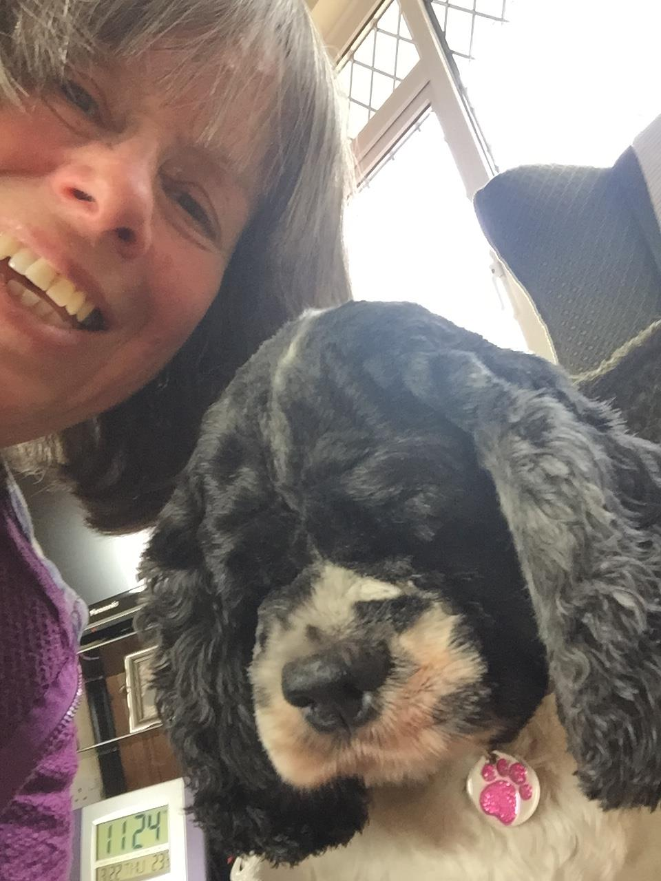 Welcome Esme  - Esme is our newest carer. Esme hasnt wasted any time, she is already looking after her first dog, Ava (seen here) and has fallen in love.