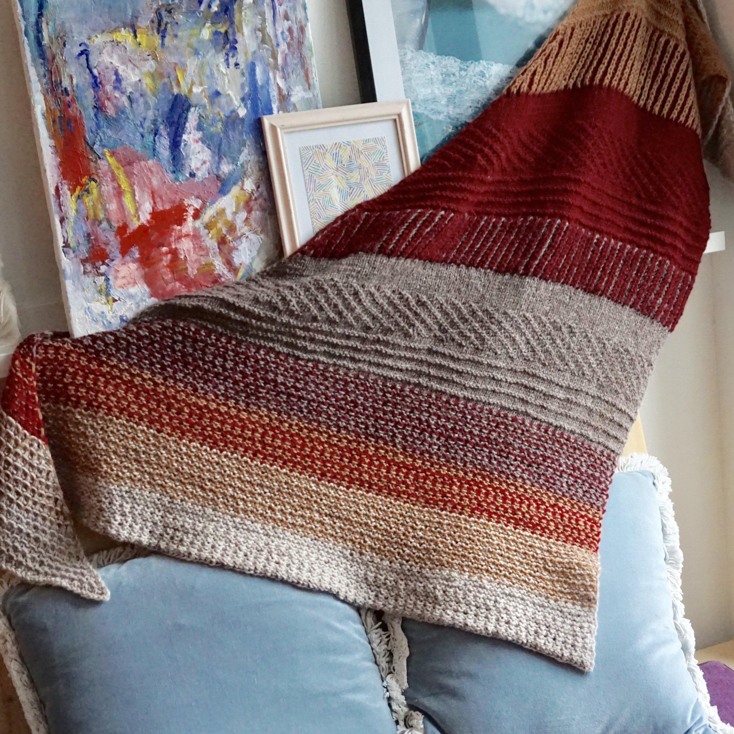 Range shawl - Designet av Andrea Mowry