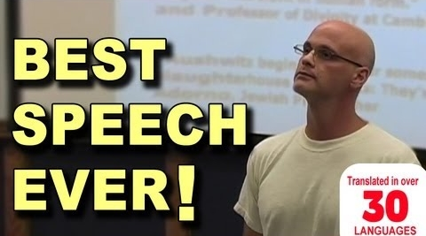 The Best Speech You<br>Will Ever Hear<br>(Gary Yourofsky)
