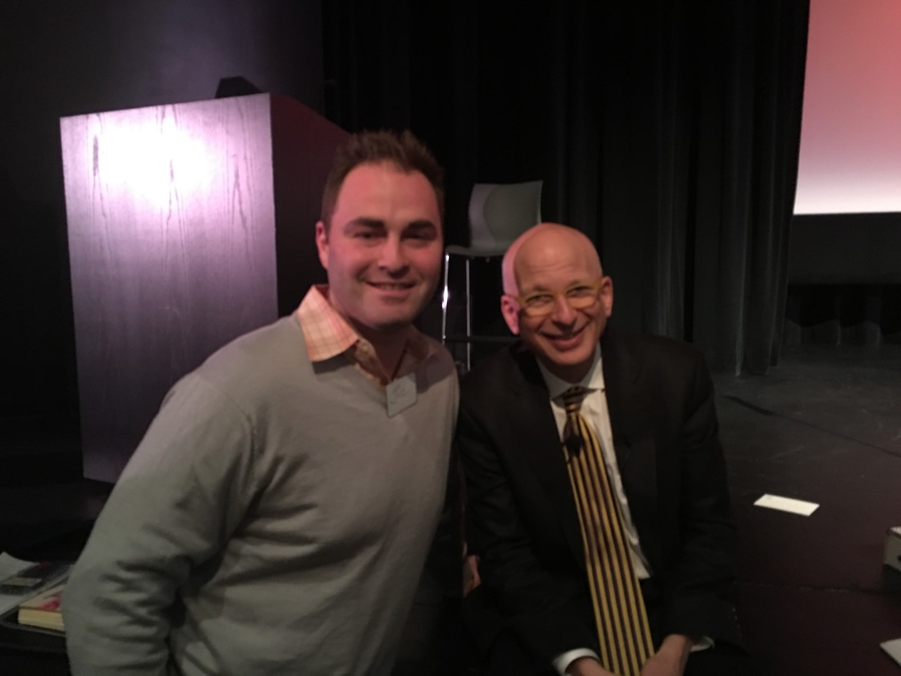 SETH GODIN AND ME: EPISODES 26 AND 66.