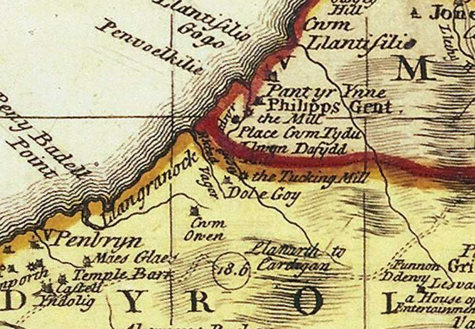 Map of 1763