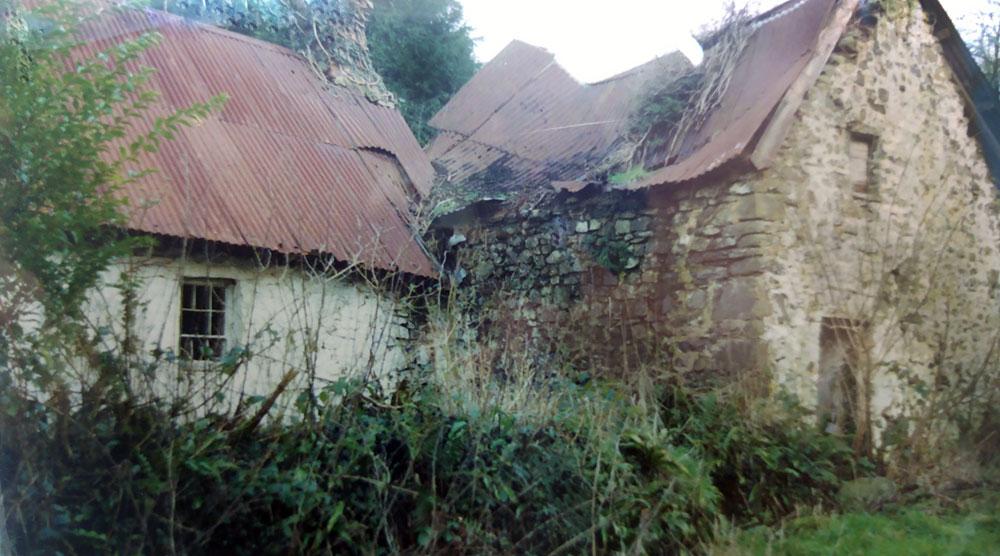 Glan yr Afon before 'rescue' in 1990