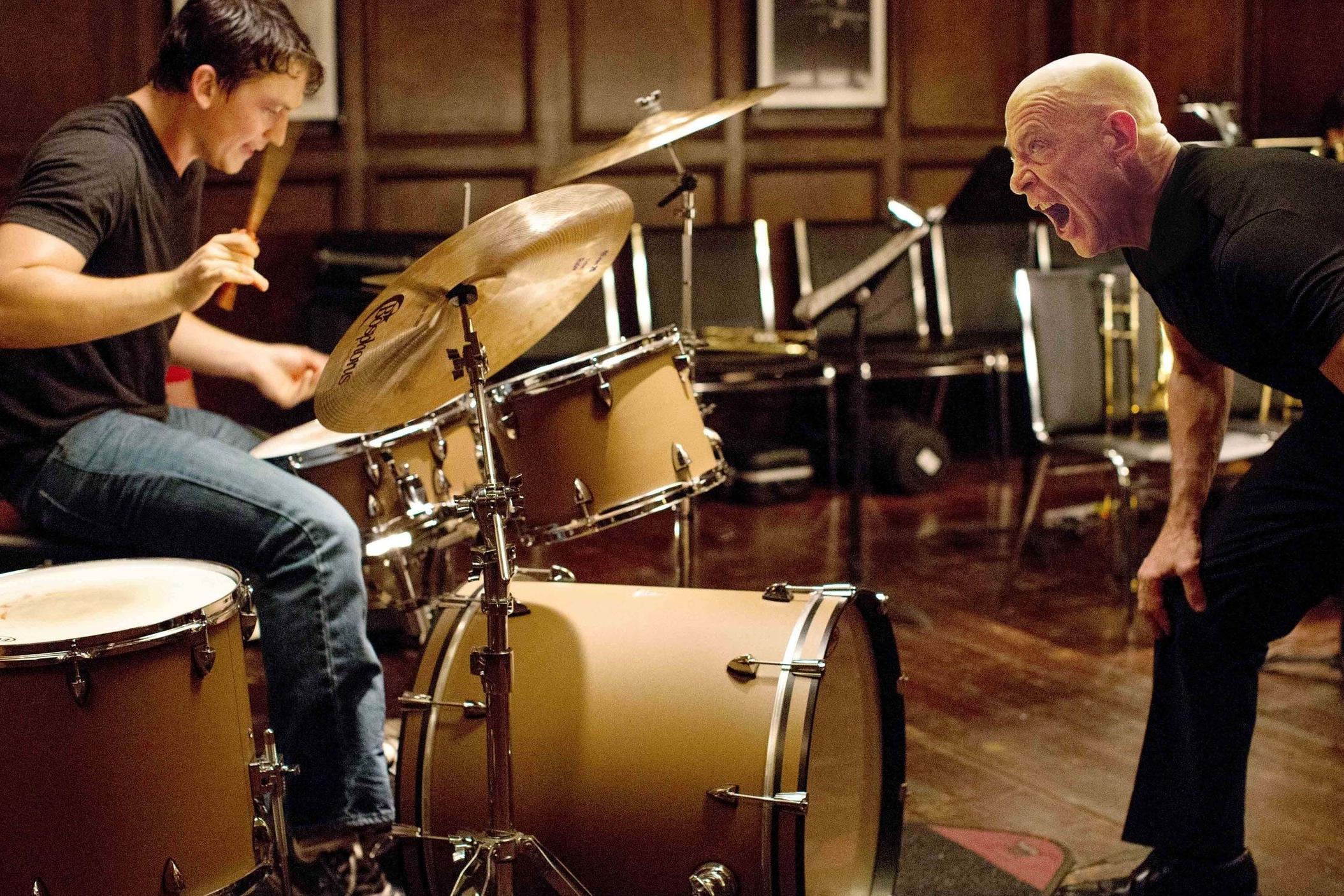 Whiplash (2014) - Directed by: Damien ChazelleWritten by: Damien Chazelle