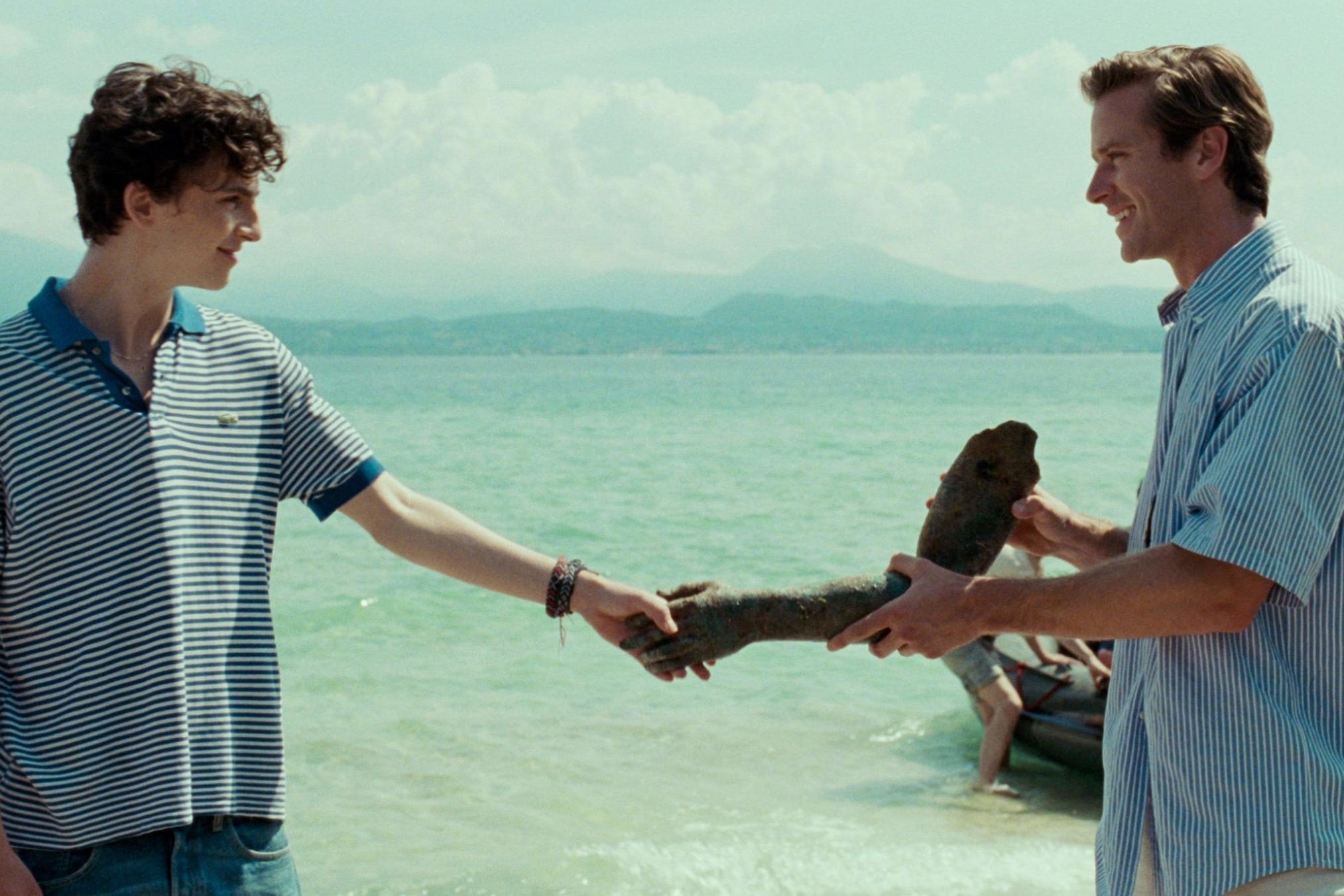 Call Me by Your Name (2017) - Directed by: Luca GuadagninoWritten by: James Ivory & André Aciman (novel).