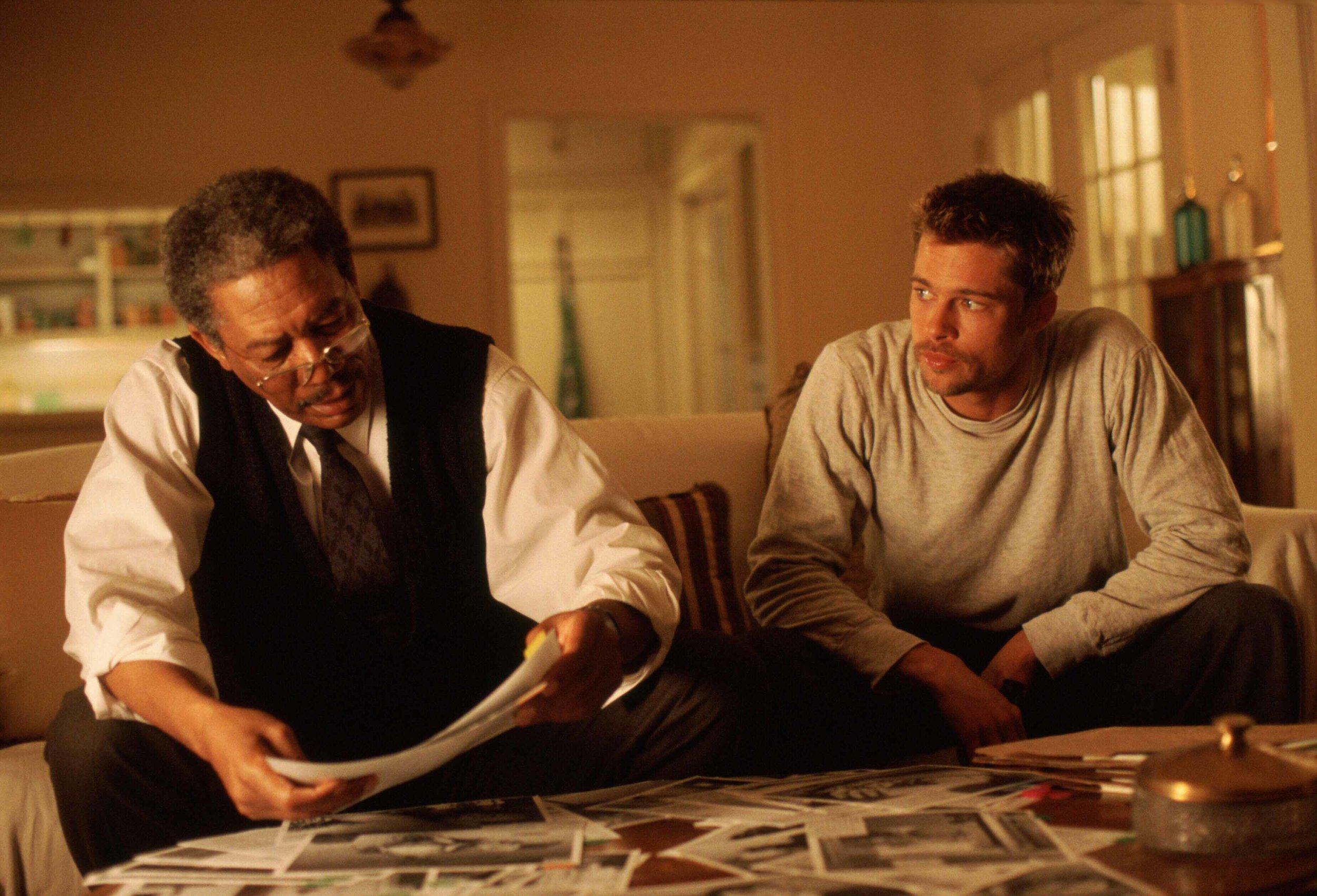 Se7en (1995) - Directed by: David FincherWritten by: Andrew Kevin Walker