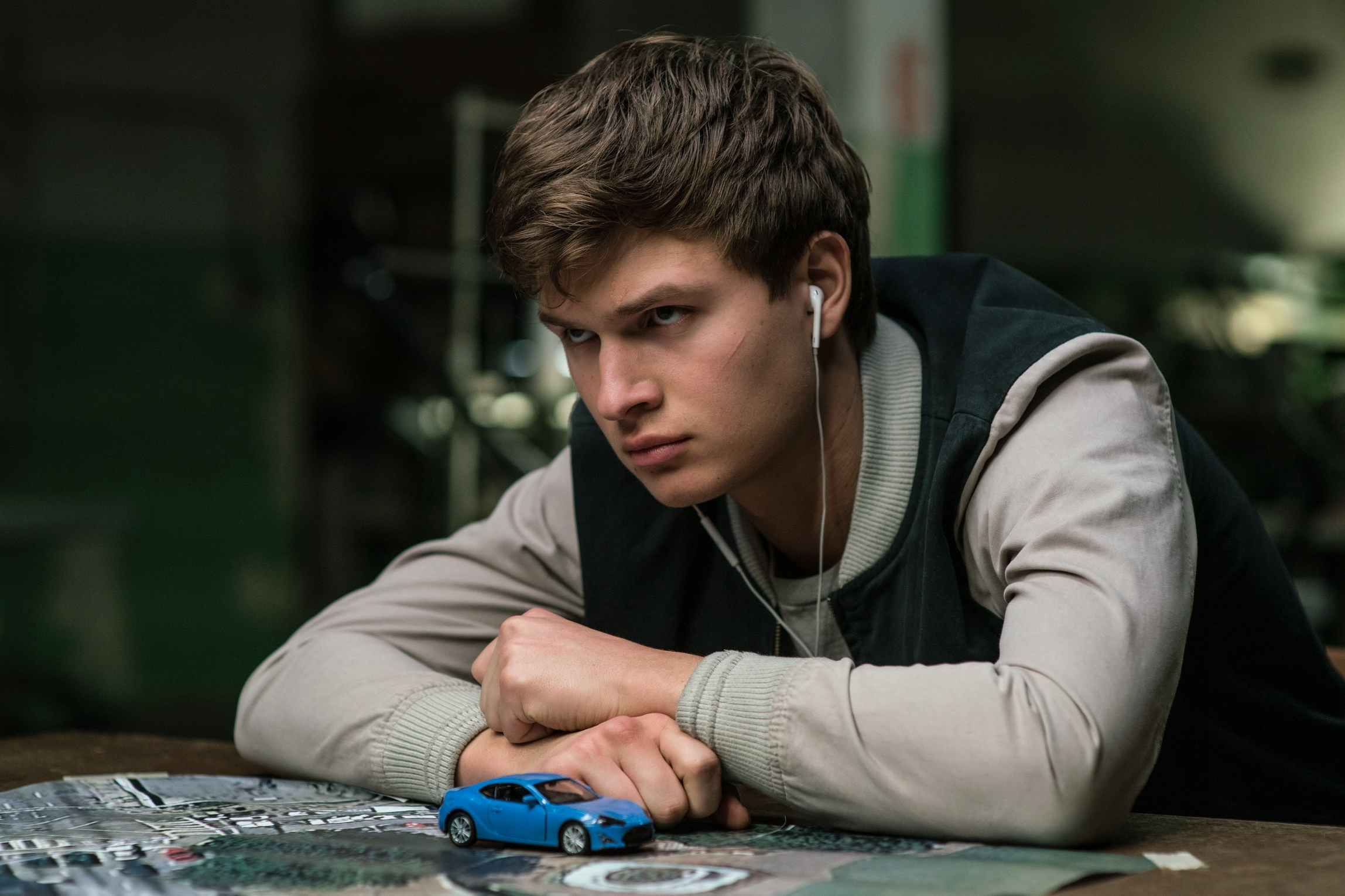 Baby Driver (2017) - Directed by: Edgar WrightWritten by: Edgar Wright