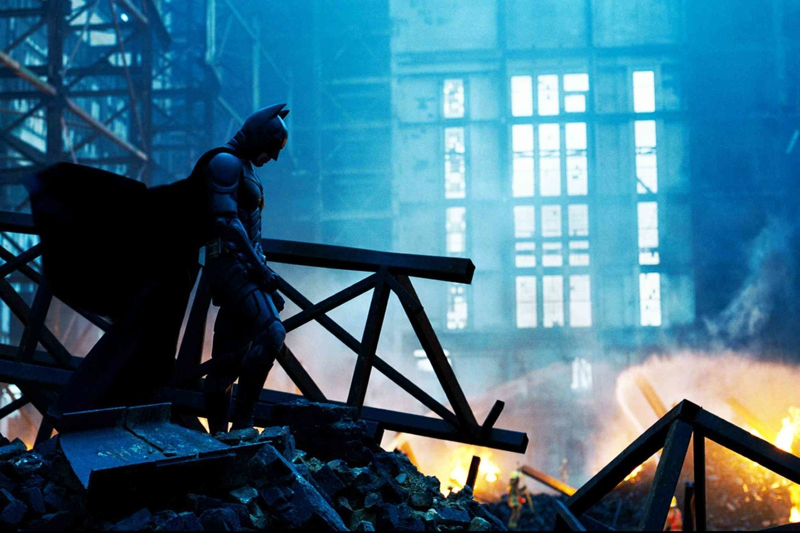 The Dark Knight (2008) - Directed by: Christopher NolanWritten by: Jonathan Nolan, Christopher Nolan